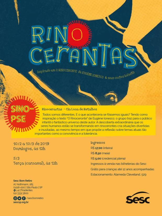 E-flyer Rinocerantas